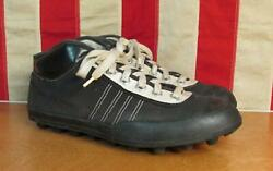 Vintage 1940s Viking Football/rugby Sneakers Turf Cleats Size 40 Norway 6.5 To 7