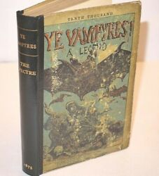Ye Vampyres A Legend Of The National Betting-ring 1875 By The Spectre