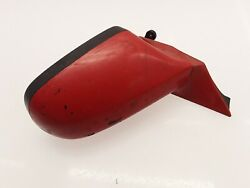 Opel Calibra 1997 Lhd Left Side Electric Wing Mirror Red Oem