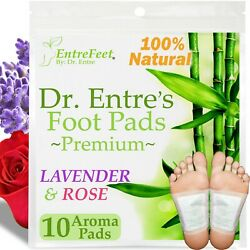 Dr. Entreand039s Detox Foot Pads10 Pack Body Patch For Cleansing Toxins Health Care