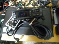Rare Audiovox Acc-55 Cd Changer With Cables/controller