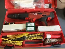 Hilti Dx 460 ,mx 72 Powder Actuated Tool Kit Pre Owned.with Unistrut Attachment