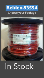Belden 83554 Cable 22/4 Fep Shielded High Temperature Wire
