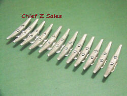 """12 New 6"""" Galvanized Open-base Dock Cleat Anchor Boat Marine Rope Line Tie-down"""
