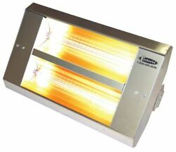 Tpi 34230th208v Series Th Mul-t-mount Electric Infrared Heater With 2 Clear Quar