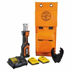Klein Tools Bat207t1 Battery-operated Cable Crimper