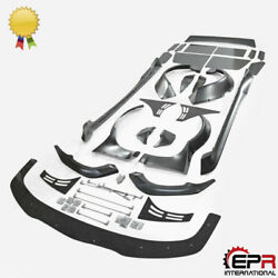 For Mazda RX8 R3 RB Style FRP Unpainted Full Wide Body All Body Kits