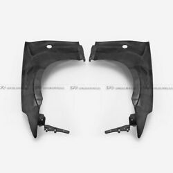 For 09-17 Nissan 370z Z34 Epa Style Frp Unpainted Vented Front Fender Body Kits