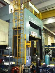 33 TON ABESEIKI SLIDING BED HYDRAULIC DIE SPOTTING PRESS Pull-out Capacity: 14.3
