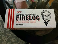 Kfc Fire Log -11 Herbs And Spices 2019 Guaranteed Shipping Before Christmas