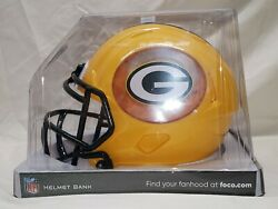 Forever Collectibles Nfl Green Bay Packers Helmet Bank