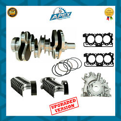 Land Rover 3.0 Crankshaft With Bearings Oil Pump Head Gasket And Piston Rings