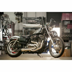Two Brothers Stainless W/ Carbon 2-into-1 Comp-s Exhaust 14-19 Harley Sportster