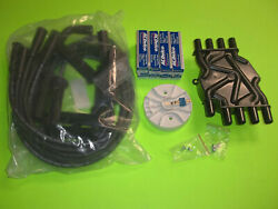 Tune Up Kit Mercruiser 5.0 5.7 Mpi 350 Mag Spark Plugs Wires Cap And Rotor
