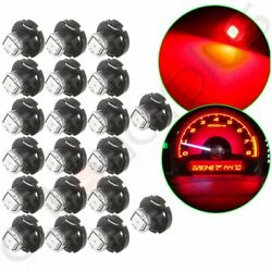 20x Red T4.2/T4 Neo Wedge LED Bulb Instrument HVAC Climate Control Light Lamp