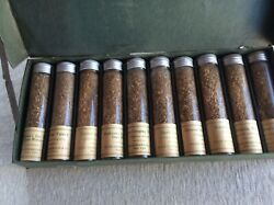 Vintage Peter Henderson And Co Golf Grasses Seed Display