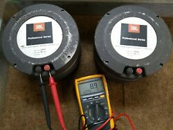 Jbl 2441 Professional Series Pair Of Drivers / Set 16 Ohm With Large Horns Compl