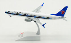 1200 Jc Wings China Southern Boeing 737 Max 8 Passenger Airplane Diecast Model