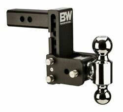 Bandw Tow And Stow Adjustable 5 Drop 5-1/2 Rise Dual 1-7/8 X 2 Size Ball Mount