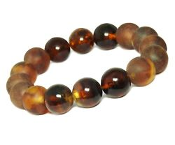 Amber Armband Women And Menand039s Combicognac Colour Matte And Shiny
