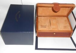 Used Franck Muller Geneve Conquistador Empty Wood Watch Box Good Conditions