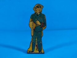 Marx Tin Lithograph Toy - Chief Petty Officer - 50 Pts - Soldiers Of Fortune