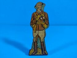 Marx Tin Lithograph Toy - 4 Star General - 100 Pts - Soldiers Of Fortune