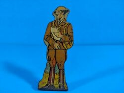 Marx Tin Lithograph Toy - Infantry Colonel - 75 Pts - Soldiers Of Fortune