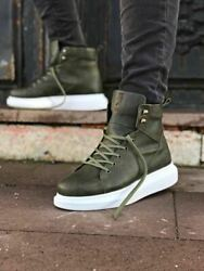 STM Design By Knack -  High Sole Mens Sneaker Boots - $64.90