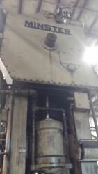 MINSTER 400 TON SSDC PRESS STROKE:  12