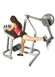 Muscle D Power Leverage Line Booty Shaper | Plate Loaded Glute Machine