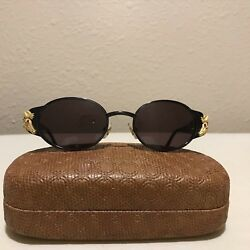 KIESELSTEIN-CORD DIAMOND & RUBY ALLIGATOR SUNGLASSES