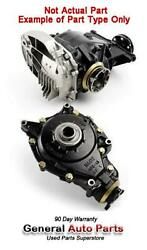 13 14 Cayenne Front Differential Carrier 4.8l W/o Turbo Id Nkk 3.70 Ratio
