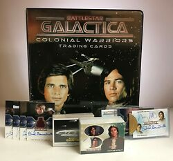 Battlestar Galactica Colonial Warriors - Trading Card MASTER SET - Rittenhouse