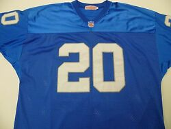Mitchell And Ness Barry Sanders 1996 Throwback Jersey Sz 54 Detroit Lions Vintage