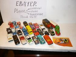 Lot 6 26 Rare Die-cast Vintage Car Toys From 60s/70s/80s/90s/00s
