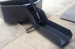 Skid Steer 1 Yard Concrete Bucket - Hopper - Cement Bucket With 3and039 Chute