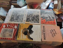 Lot Of Vintage Black Americana Sheet Music, Porgy And Bess 12th Street Rag, More