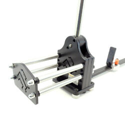 Multi-profile And Hi Rise Aluminum Din Rail Cutter W/guide And 1000mm Length Stop
