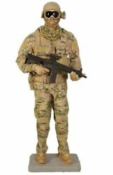 Soldier Tactical Life Size Military Prop Resin Decor Statue