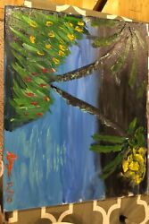 Original Painting Masterpiece By A New-aged Artist Rory Le Grand Artiste Affamandeacute