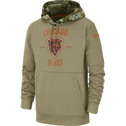 2019 Chicago Bears Nfl Nike Salute To Service Hoodie Xl