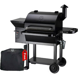 Z Grills Zpg-10002b Wood Pellet Grill Bbq Smoker Digital Control With Cover