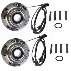 2x Left/right Front Wheel Hub Bearing Assembly For Ford F250 F350 Super Duty 4wd