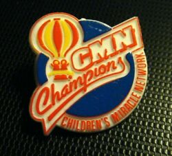 Childrenand039s Miracle Network Lapel Pin - Vintage Hospitals Cmn Champions Badge Pin