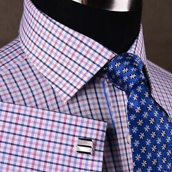 3 Business Shirts And 4 Neckties Bundle With Complimentary Cufflinks Package