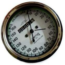 Smith Speedometer Dial For Royal Enfield White