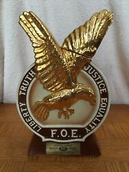 """1971 """"fraternity Order Of Eagles Convention"""" Old Mr. Boston Decanter"""