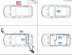 Mb Gle W166 Trailer Coupling Wiring Harness Lhd A1665401603 New Genuine