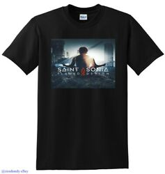 *NEW* SAINT ASONIA T SHIRT flawed design vinyl cd cover SMALL MEDIUM LARGE or XL
